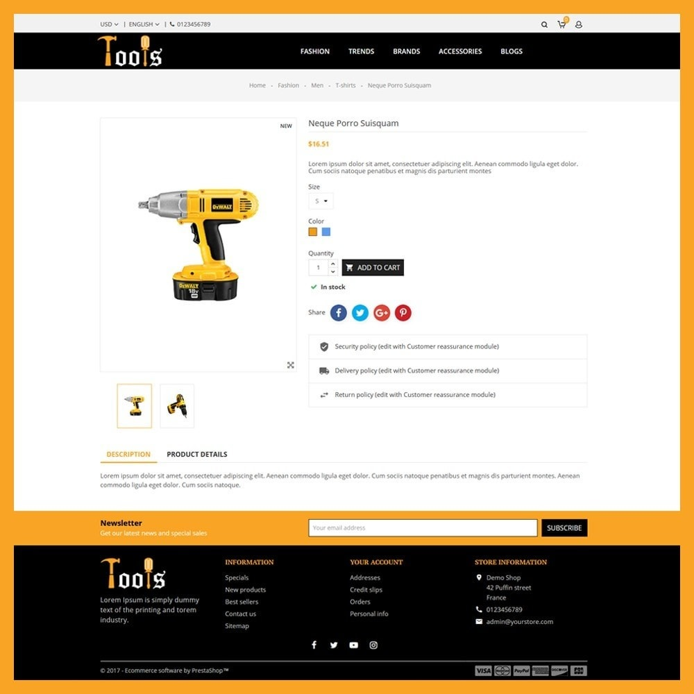 theme - Automotive & Cars - Tools Store - 4