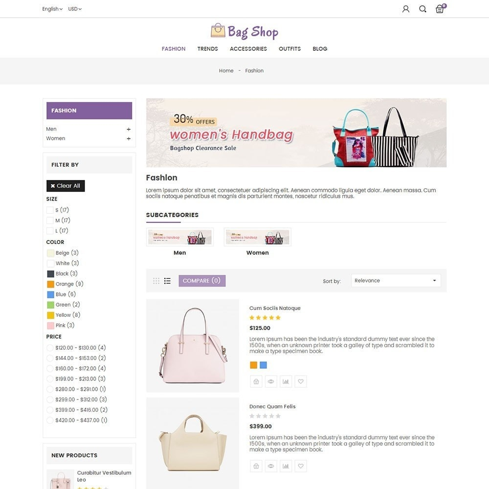 theme - Moda & Obuwie - Bag Shop - 4