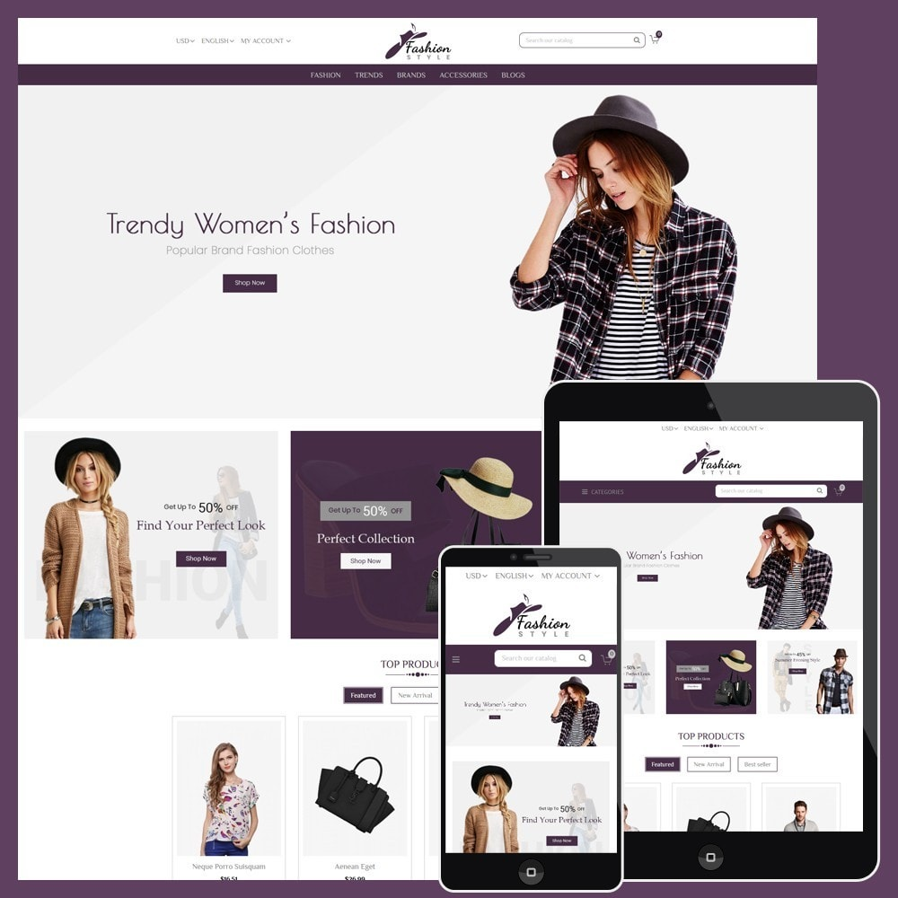 theme - Mode & Chaussures - Fashion Style Store - 1