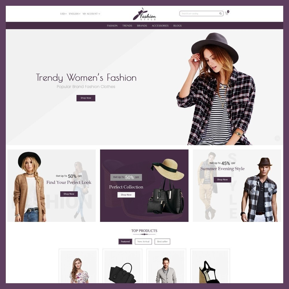 theme - Mode & Chaussures - Fashion Style Store - 2