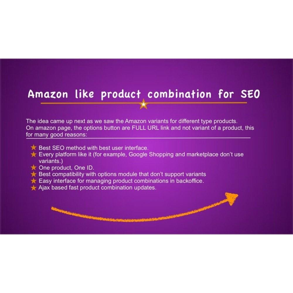 module - Combinaciones y Personalización de productos - Ultimate SEO combination - 1