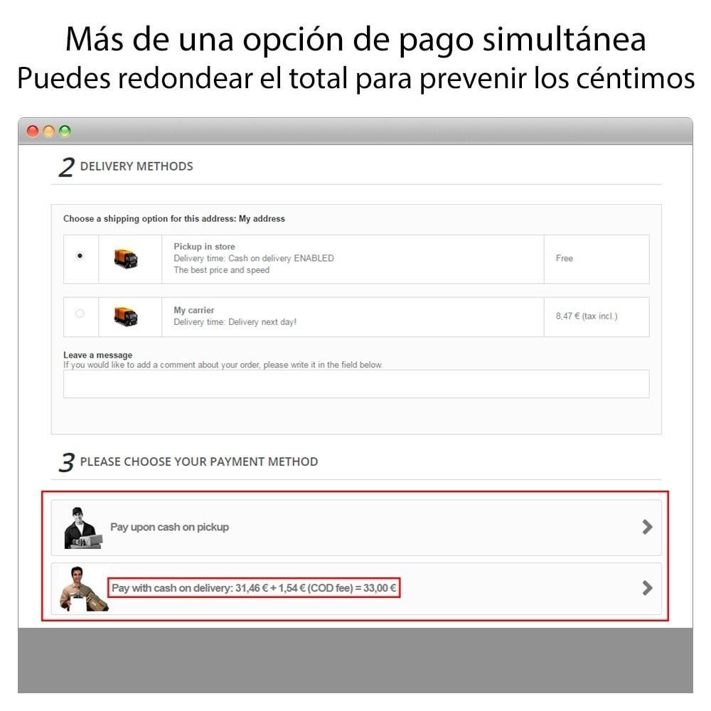 module - Pago a la Entrega (contrarrembolso) - Pago contra reembolso con comisión/recargo Plus - 10