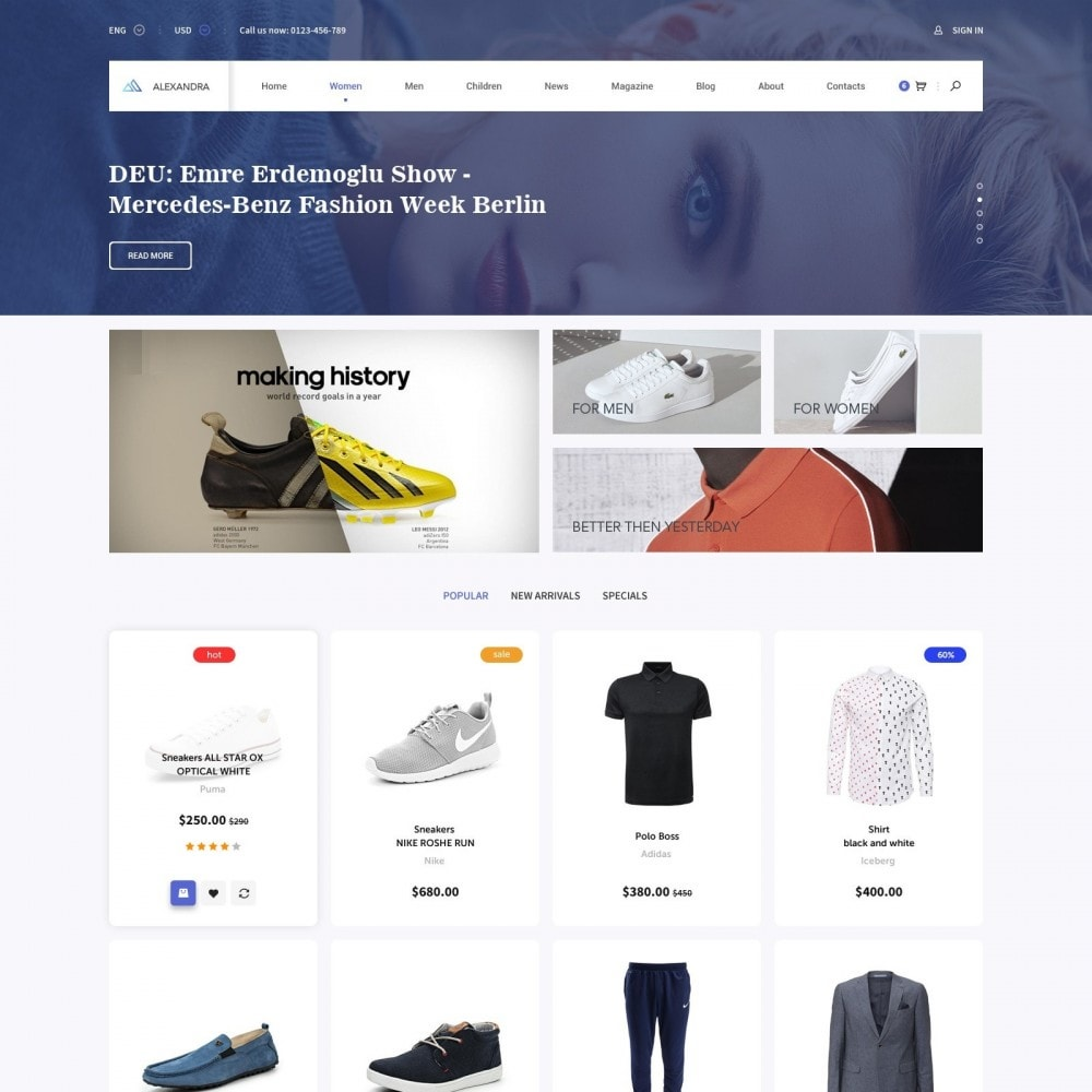 theme - Mode & Schoenen - Brand Store of Clothes - 1