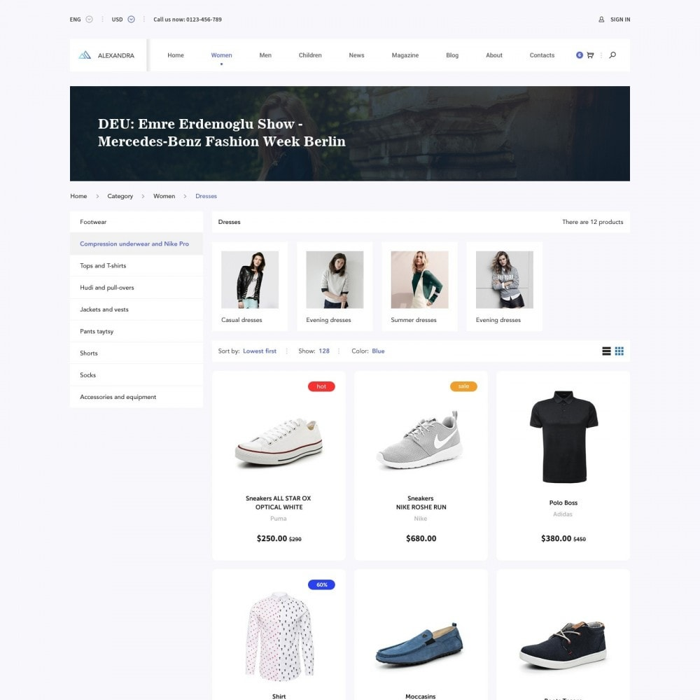 theme - Moda y Calzado - Brand Store of Clothes - 2