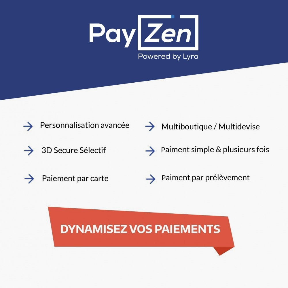 module - Payment by Card or Wallet - Payzen - Internet payment Gateway - 1