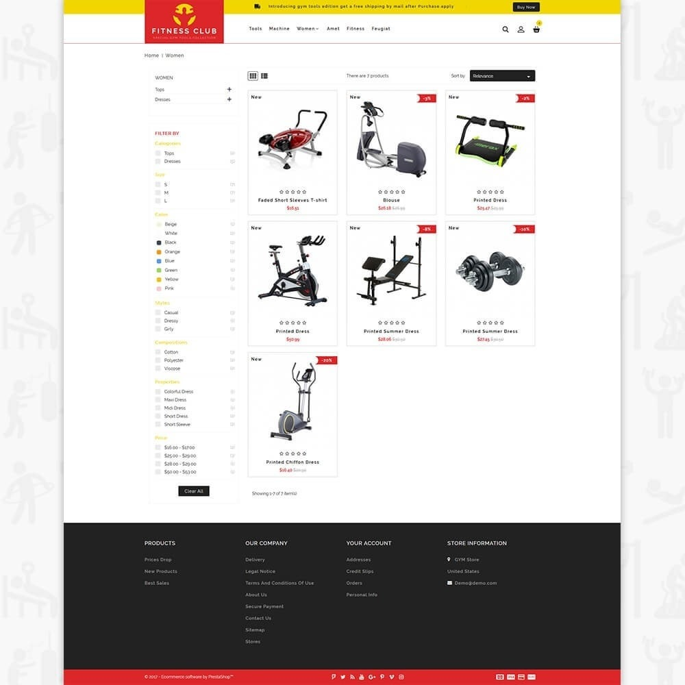 Fitness Club - The Special GYM Tools Collection