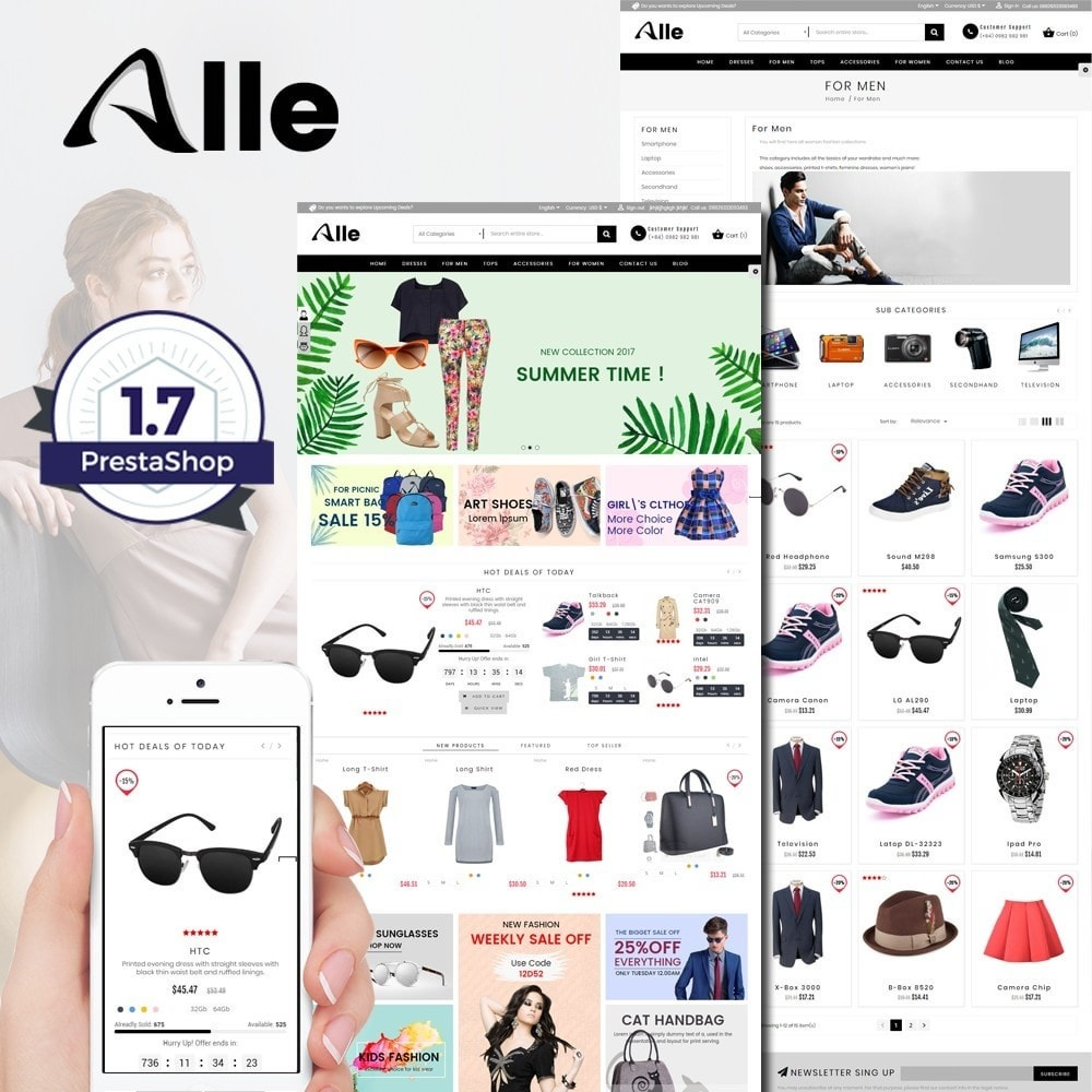 theme - Мода и обувь - Alle Fashion Center - 1