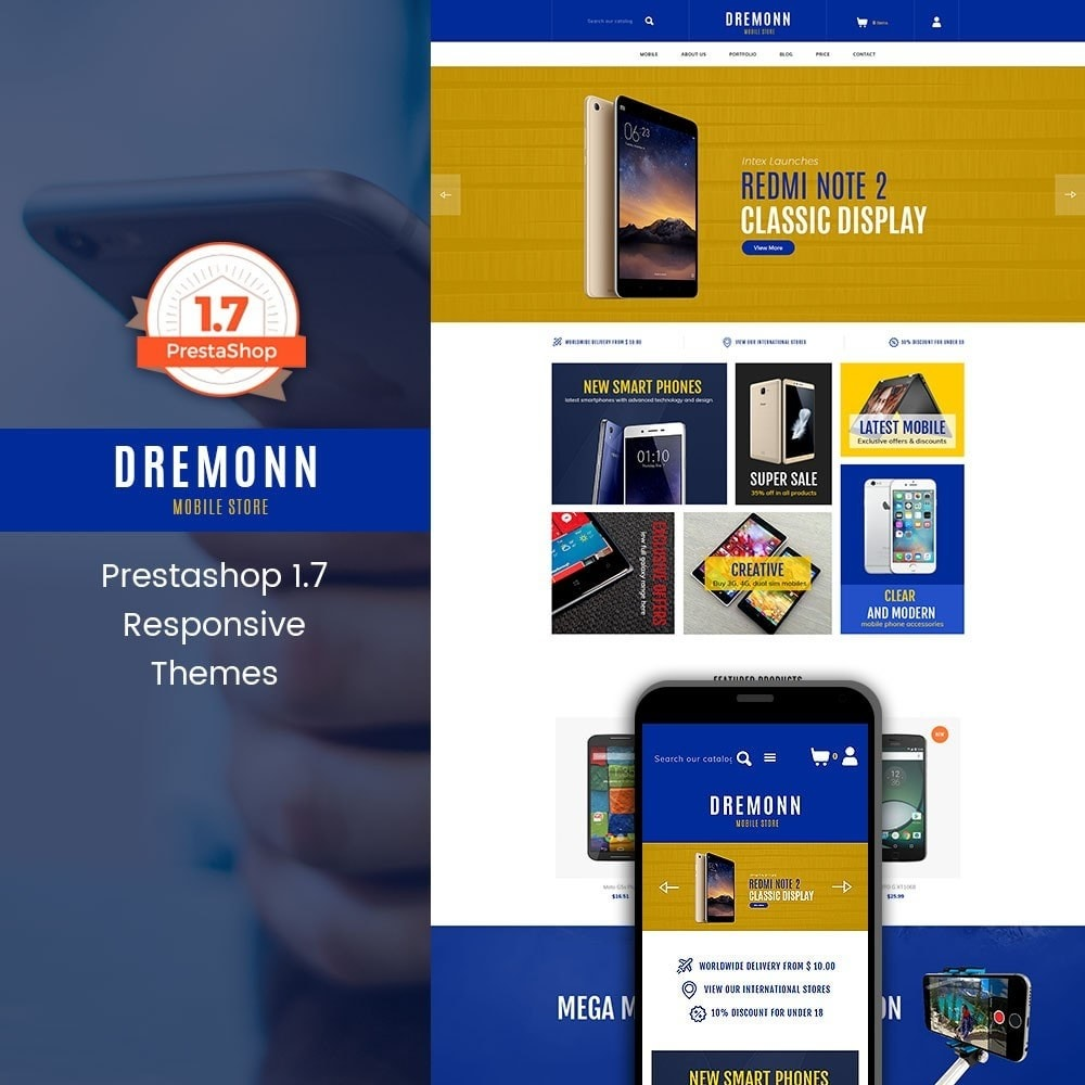 theme - Elettronica & High Tech - Dremonn - Mobile Store - 1