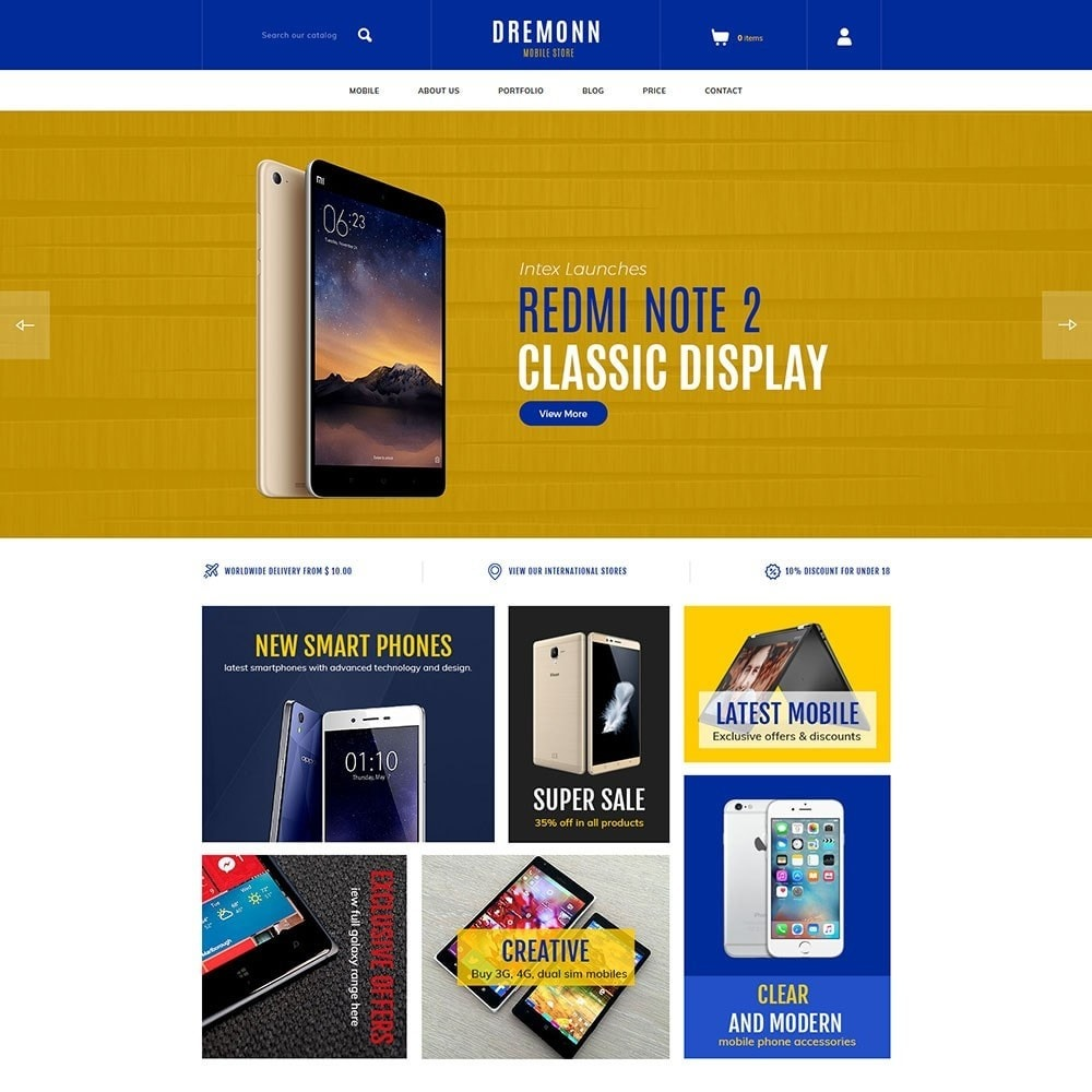 Dremonn - Mobile Store