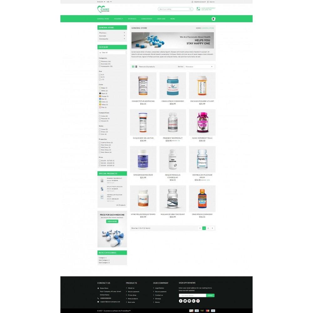 Care - Medicine store