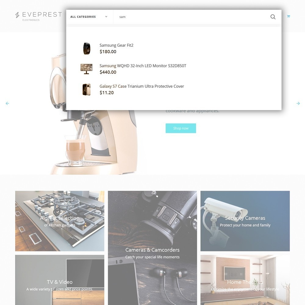 theme - Электроника и компьютеры - Eveprest -  шаблон магазина электроники - 6