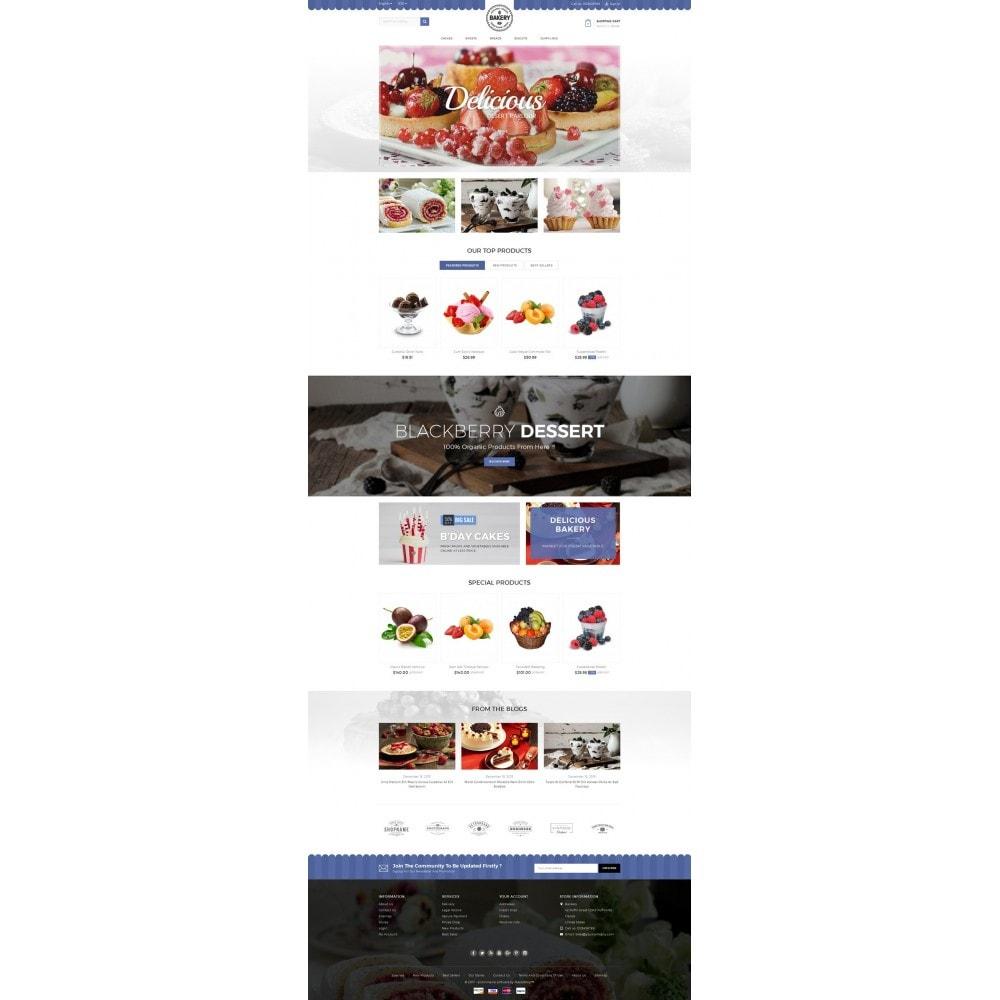 theme - Food & Restaurant - Online Bakery Store - 2