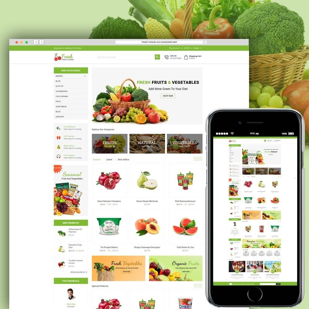 Fresh Food Store
