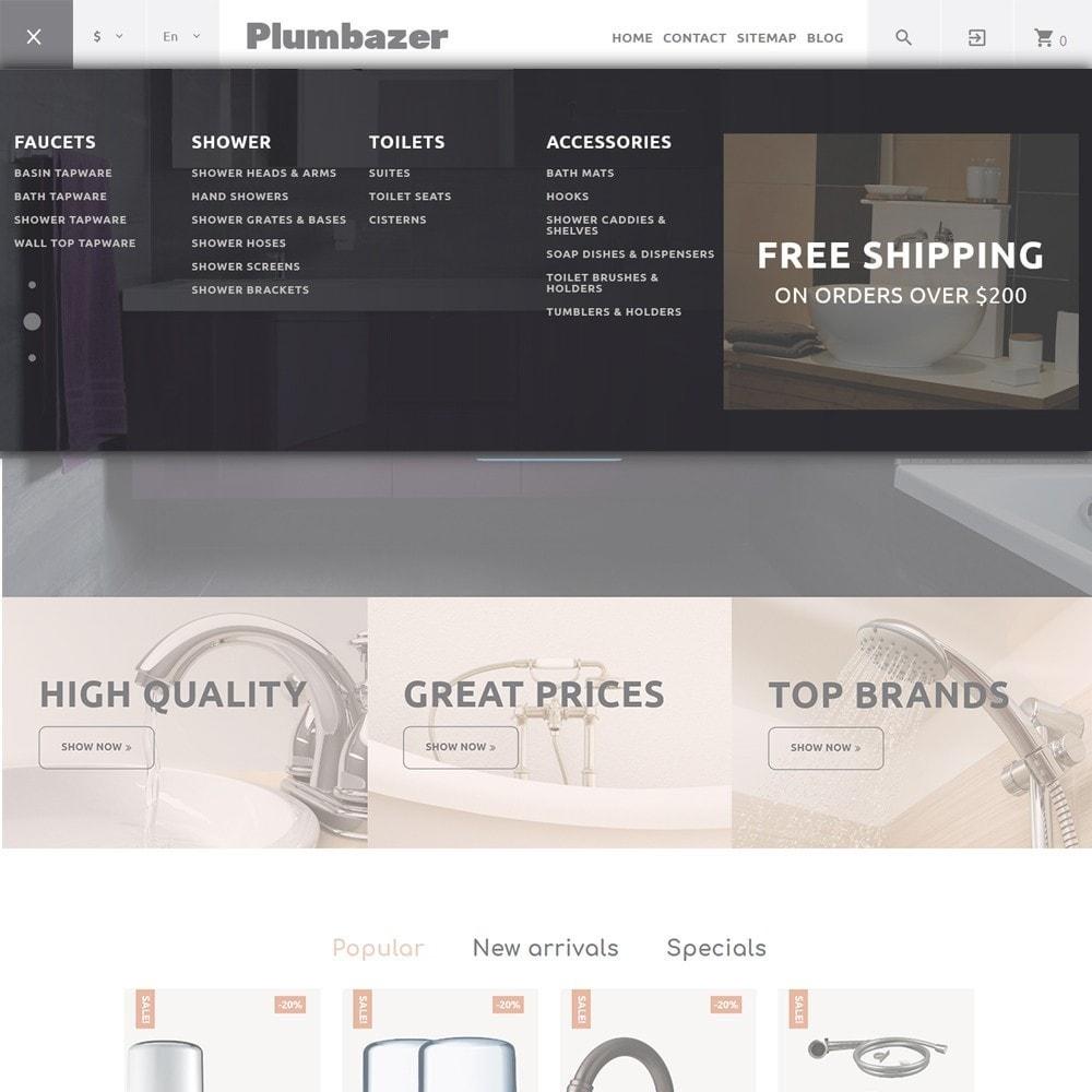 theme - Home & Garden - Plumbazer - Plumbing Responsive - 3