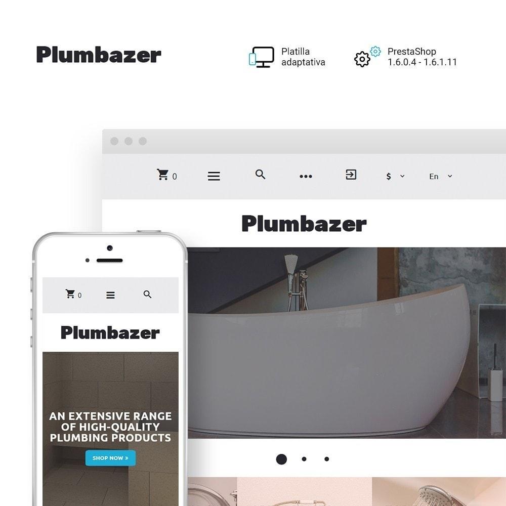 theme - Hogar y Jardín - Plumbazer - Plumbing Responsive - 1