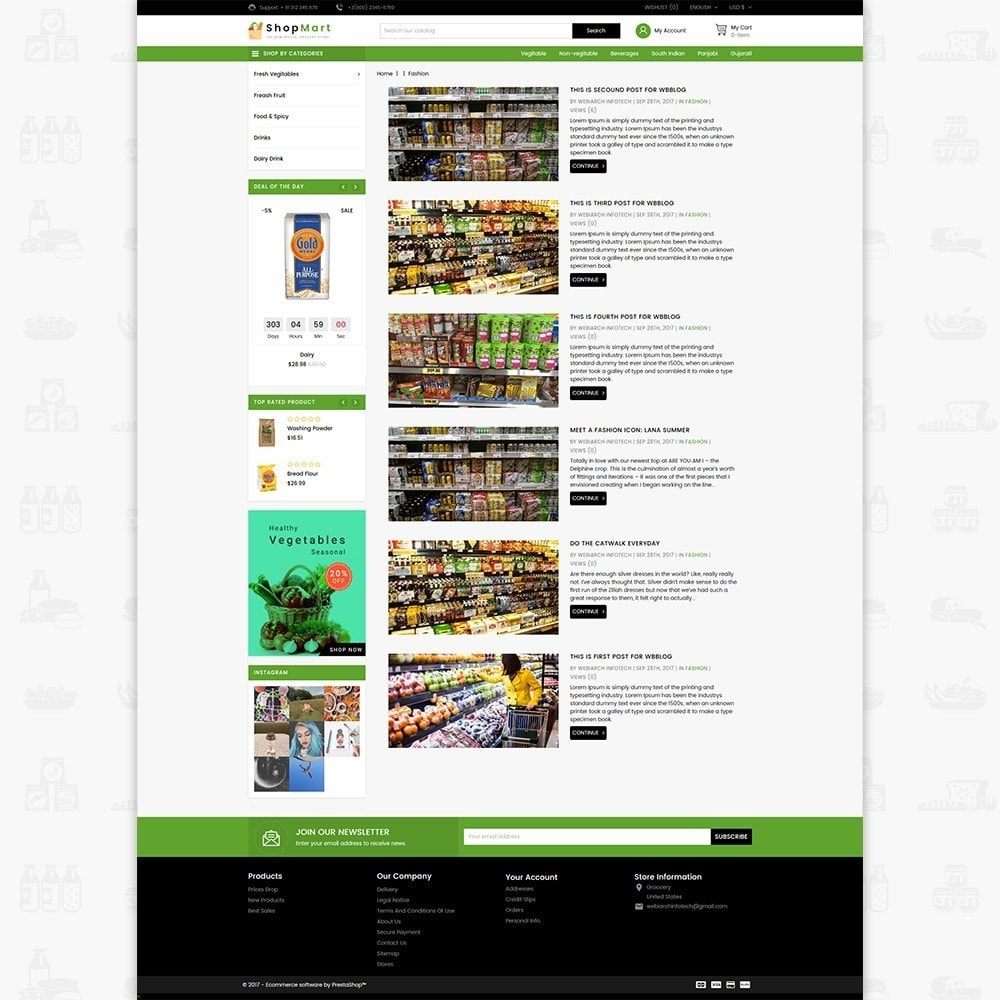 theme - Dom & Ogród - ShopMart - The Special Grocery Store - 6