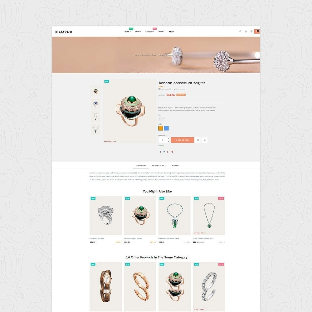 theme - Jewelry & Accessories - At Diamond - 3
