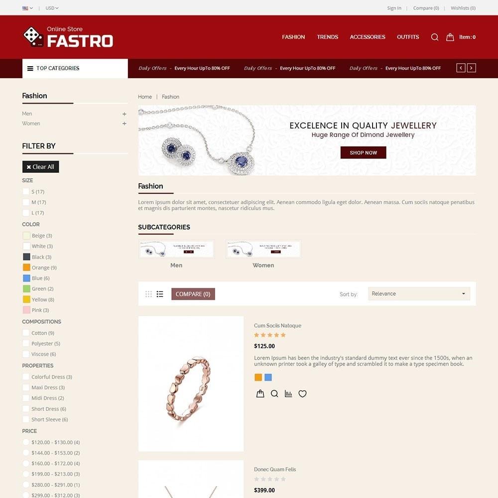 theme - Jewelry & Accessories - Fastro Jewellery Store - 4