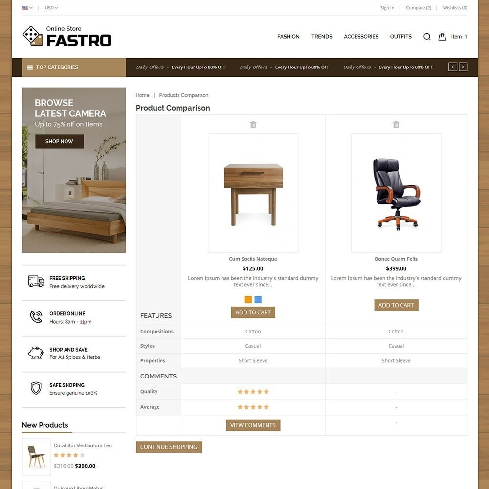 theme - Home & Garden - Fastro Furniture Shop - 7