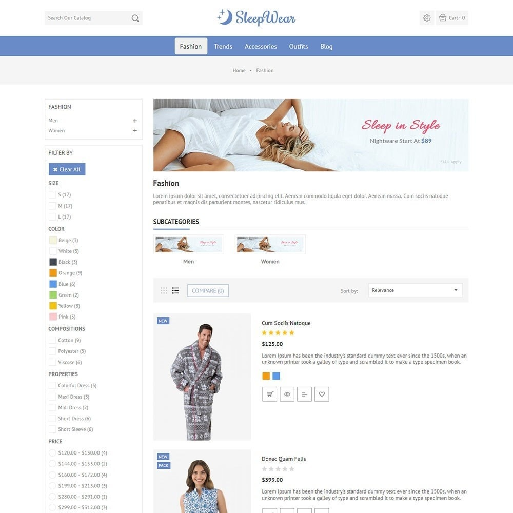 theme - Lenceria y Adultos - Sleep Wear Store - 4