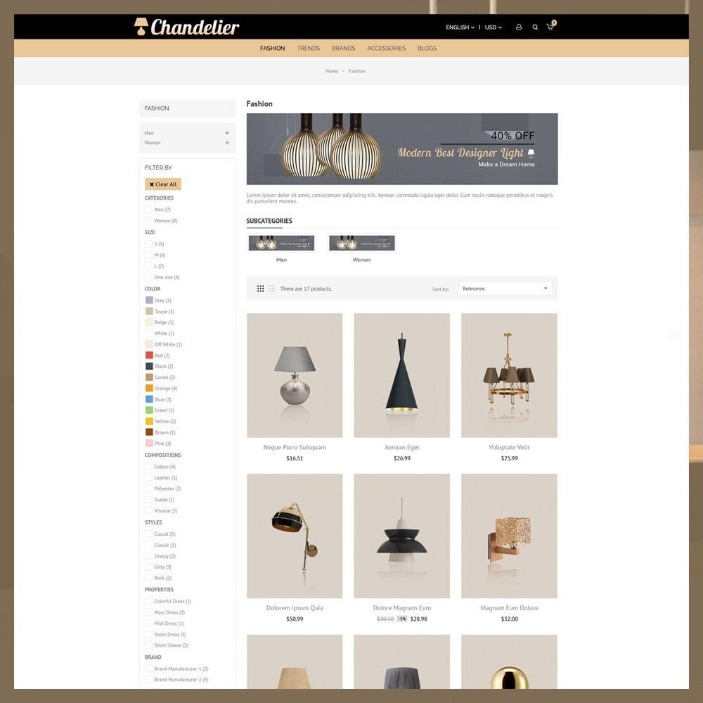 theme - Casa & Giardino - Chandelier Store - 4