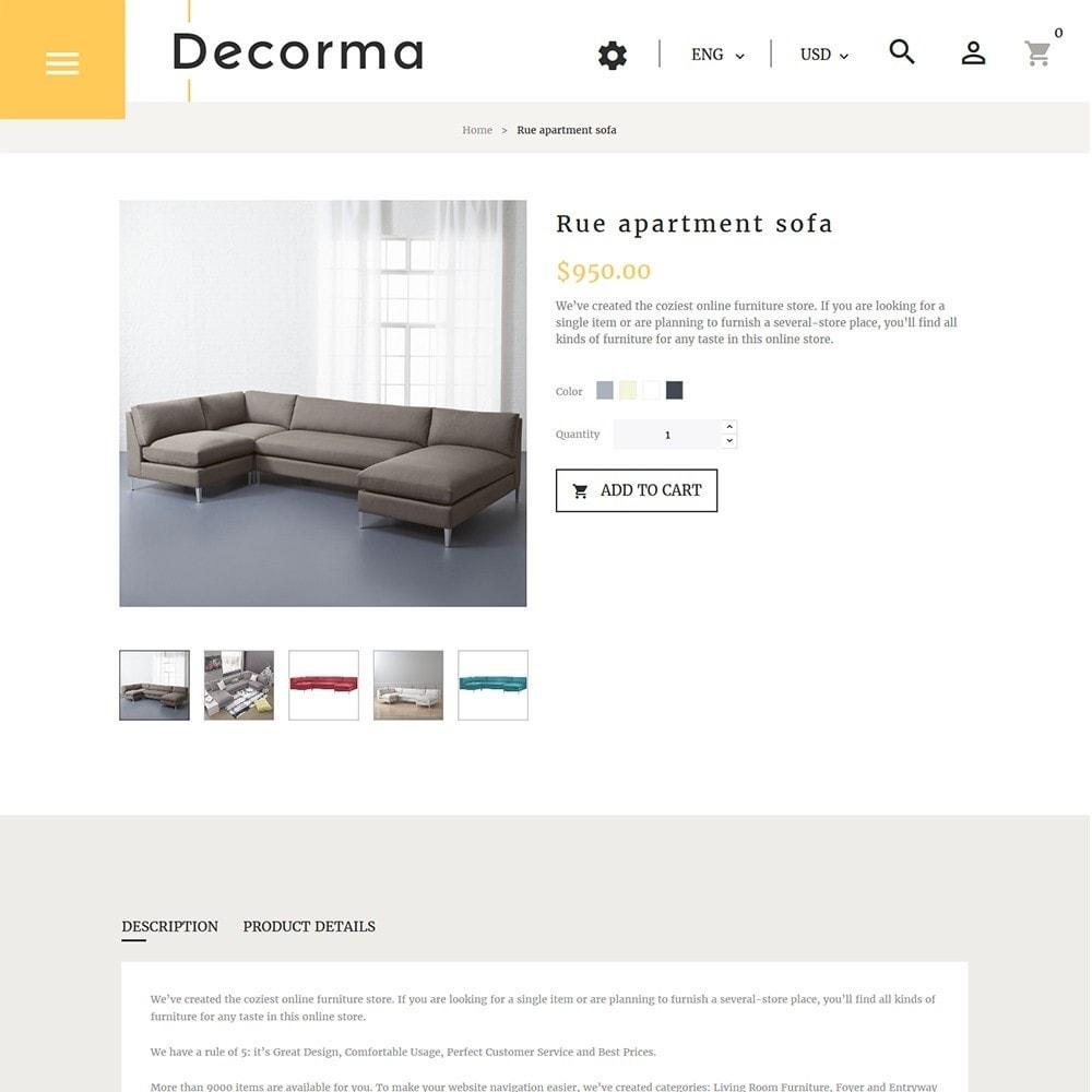 theme - Arte y Cultura - Decorma - para Sitio de Muebles - 5