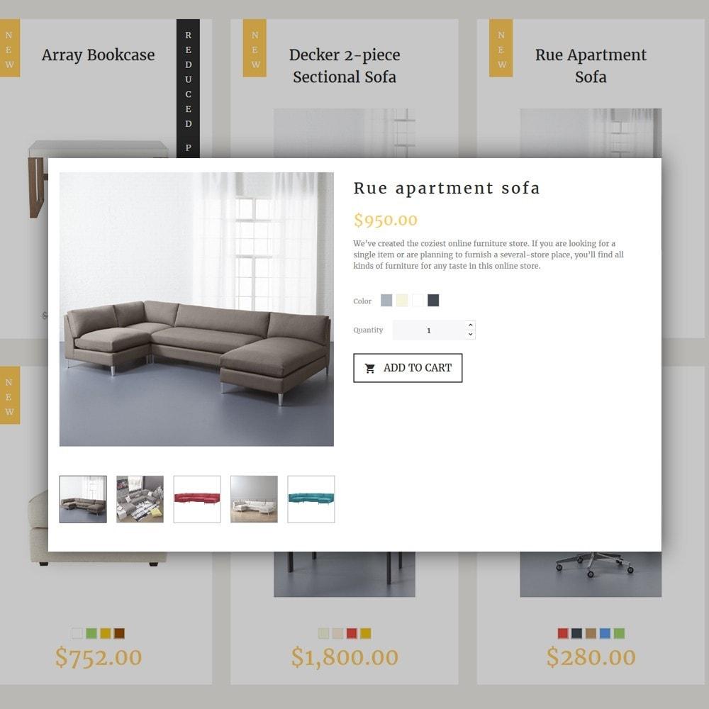 Decorma -  шаблон по продаже мебели
