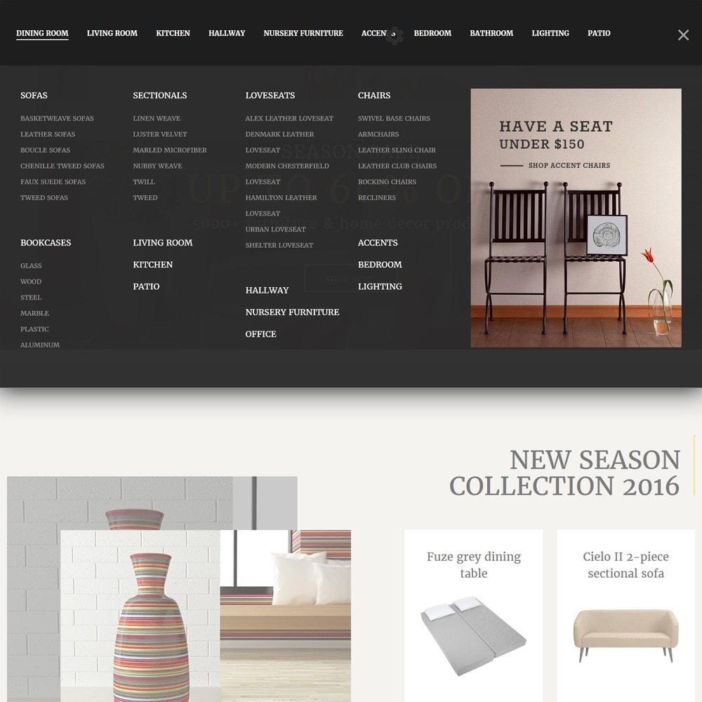 theme - Искусство и Культура - Decorma -  шаблон по продаже мебели - 4