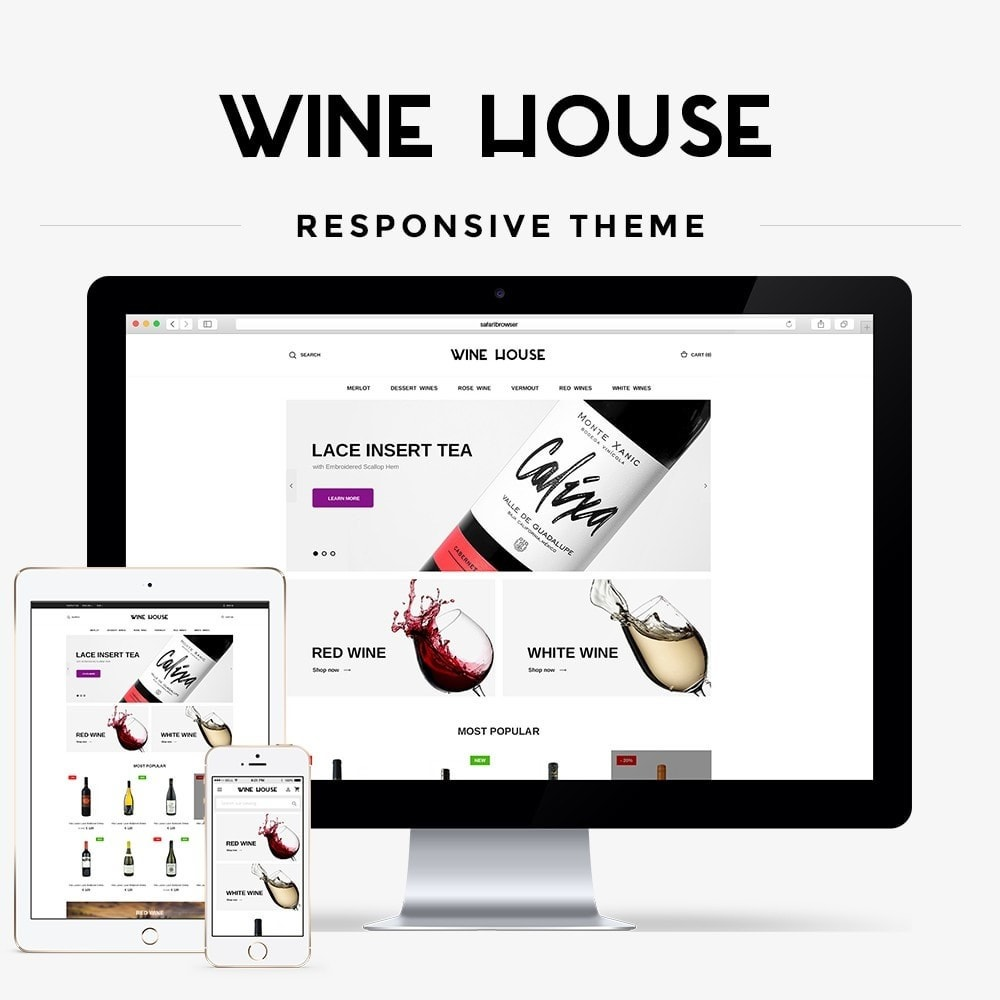 theme - Bebidas & Tabaco - Wine House Shop - 1