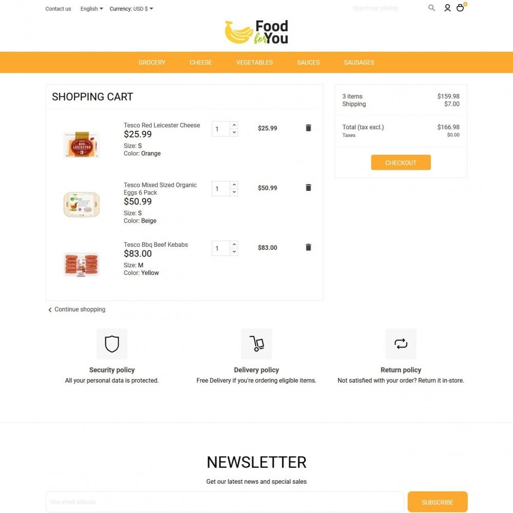 theme - Alimentation & Restauration - Food For You - 9