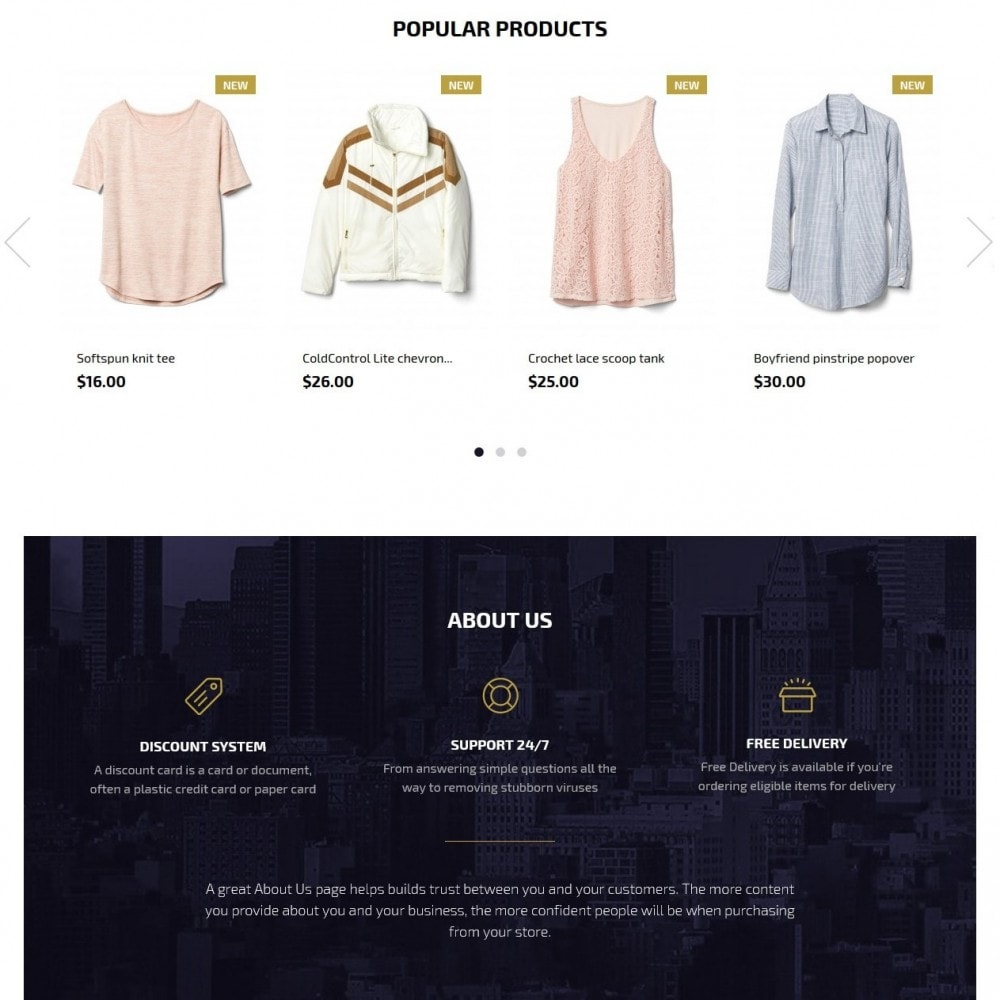 theme - Moda & Calzature - Amethyst Fashion Store - 3