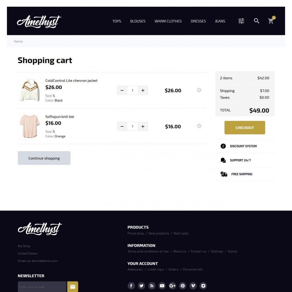 theme - Moda y Calzado - Amethyst Fashion Store - 7