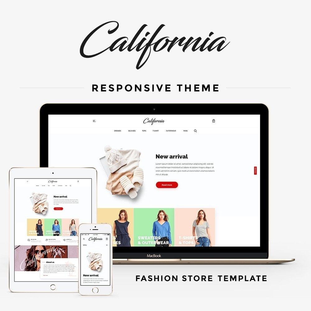 theme - Fashion & Shoes - California Fashion Store - 1
