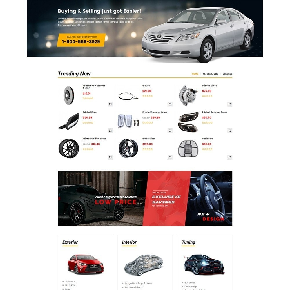 theme - Auto & Moto - Carpart Automobile Stores - 3