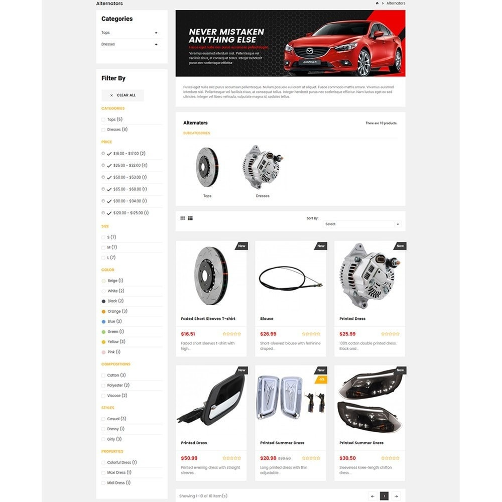 theme - Auto & Moto - Carpart Automobile Store - 5