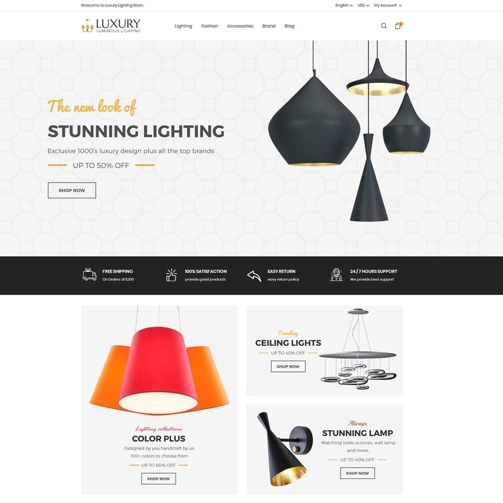 Luxury Lighting Store