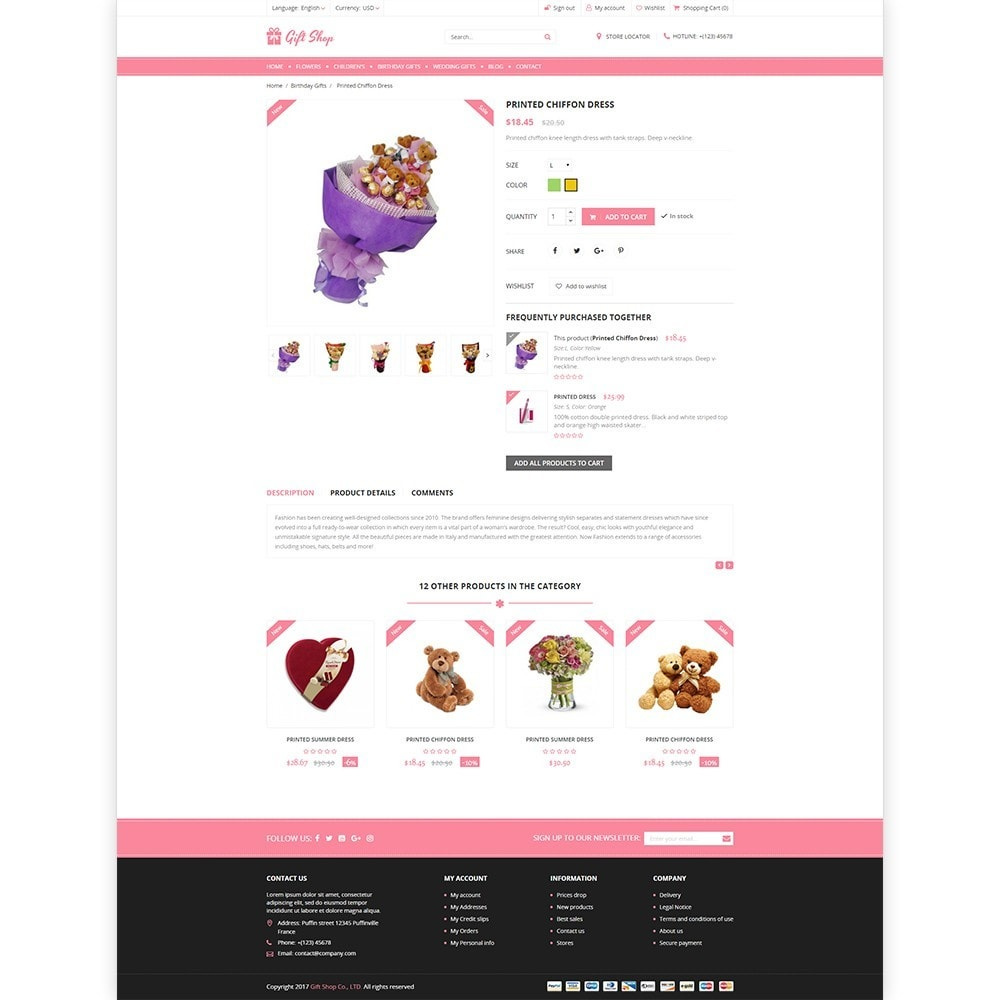 Gift Shop - For gift, flower, toy & accessories stores