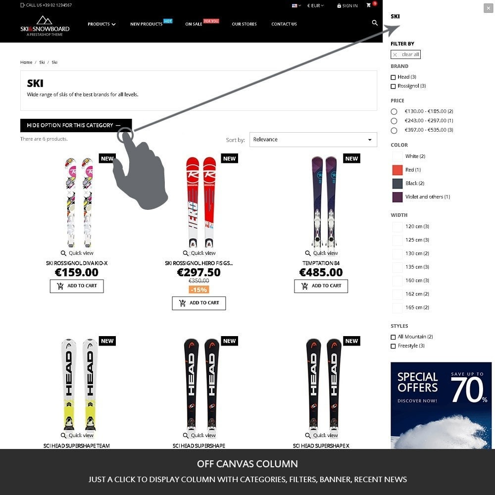 theme - Sport, Loisirs & Voyage - Ski & Snowboard - Magasin pour sports - 4