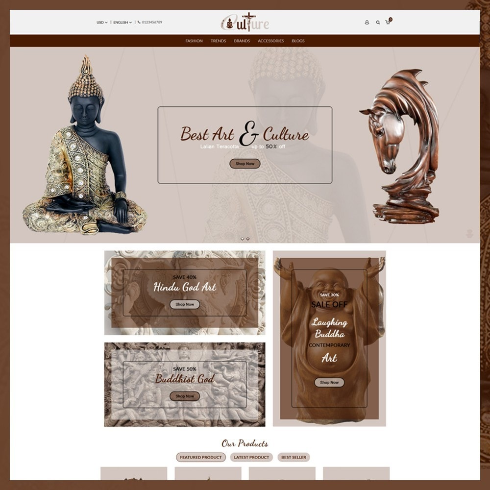 theme - Kultura & Sztuka - Art Culture Store - 2