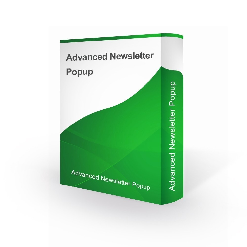 module - Dialoogvensters & Pop-ups - Advanced Newsletter Popup - 1