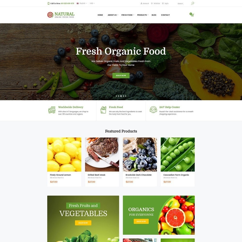 Pts Natural – Fresh Organic Food