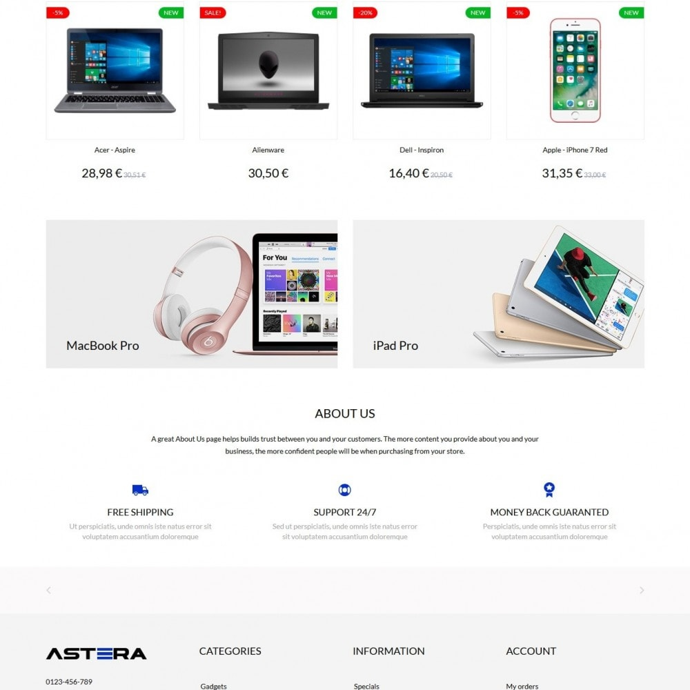 theme - Electronics & Computers - Astera - High-tech Shop - 3