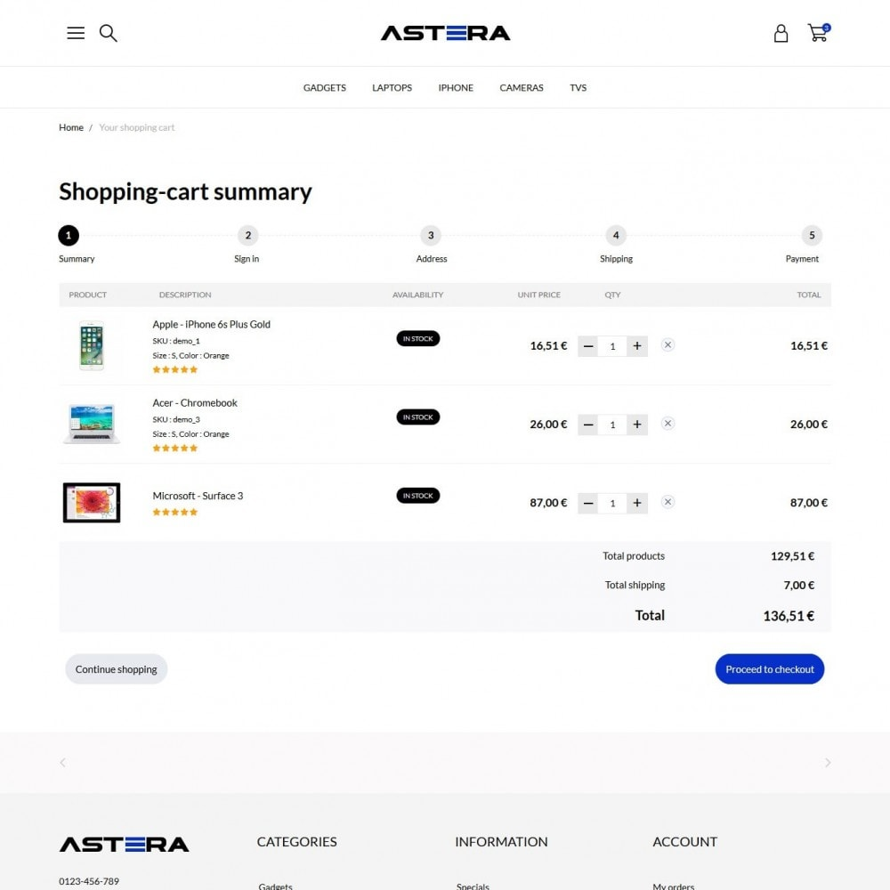 theme - Elettronica & High Tech - Astera - High-tech Shop - 9