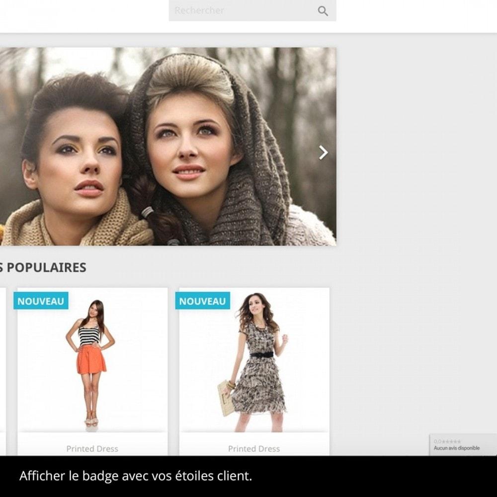 module - Avis clients - Google avis client (programme merchant center) - 4