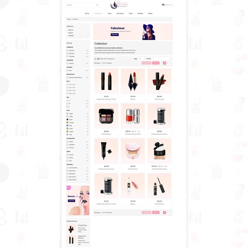 theme - Health & Beauty - Beauty Shop - 4