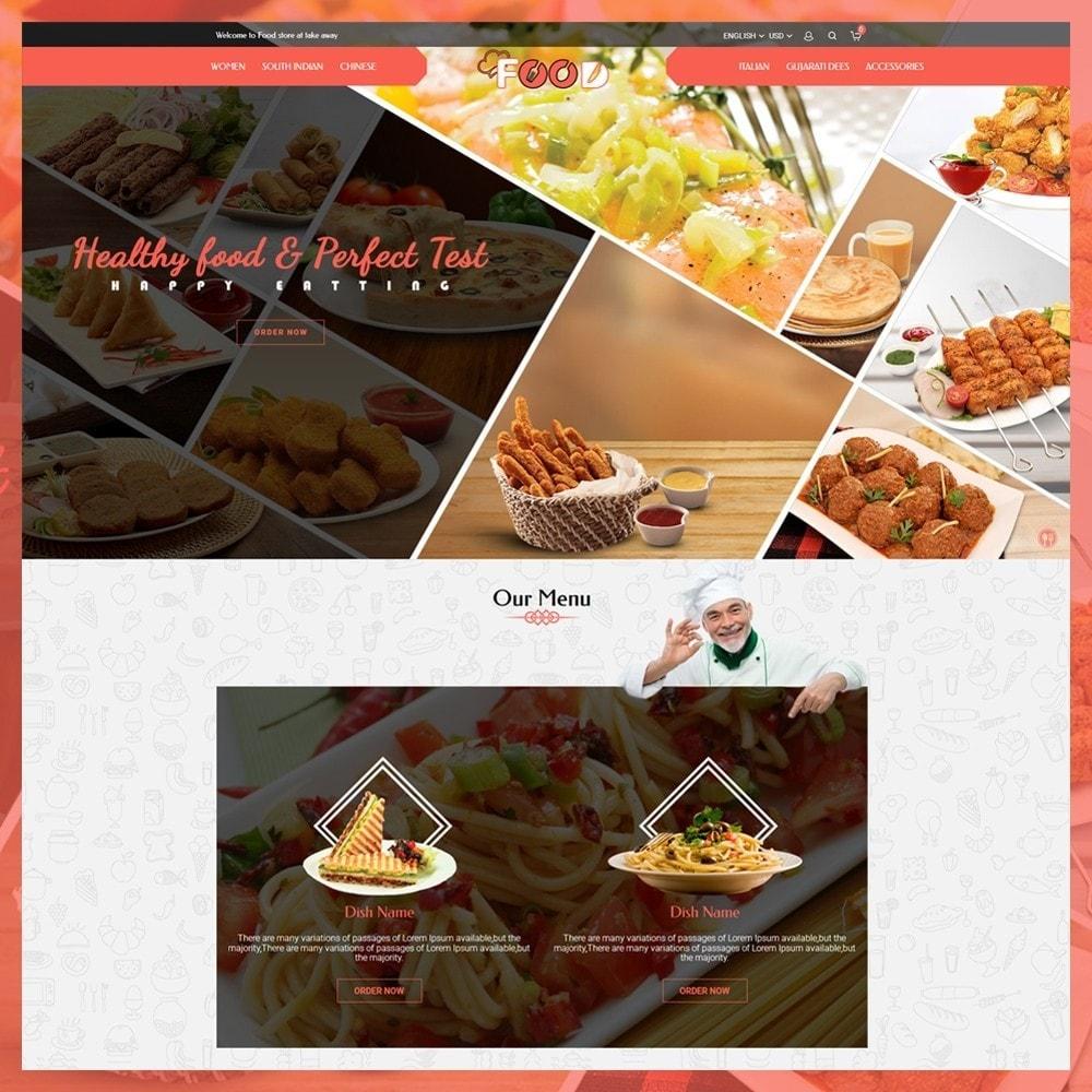 theme - Lebensmittel & Restaurants - Food Restro - 2
