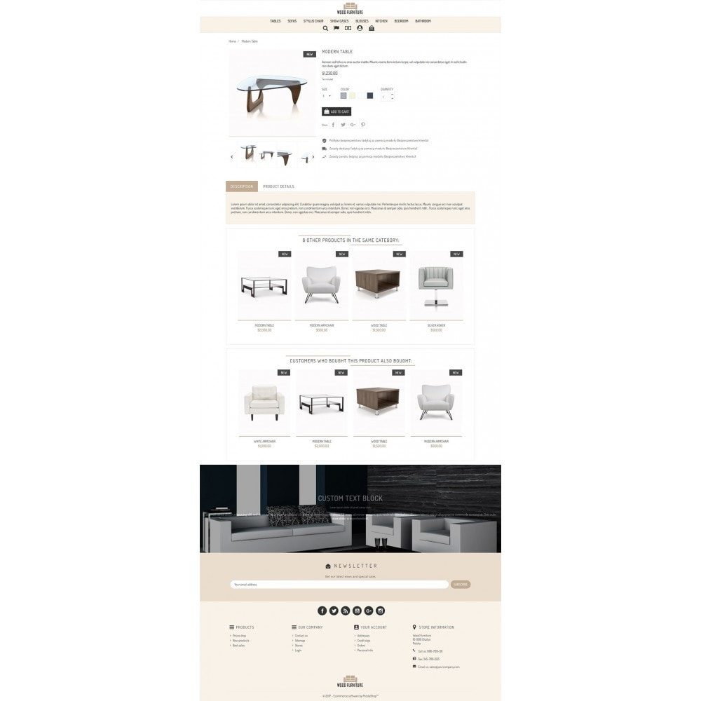 theme - Maison & Jardin - Wood Furniture Store - 3