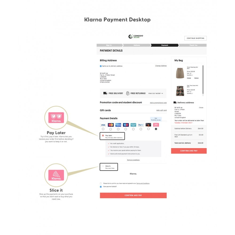 module - Payment by Invoice - Klarna Official - 1
