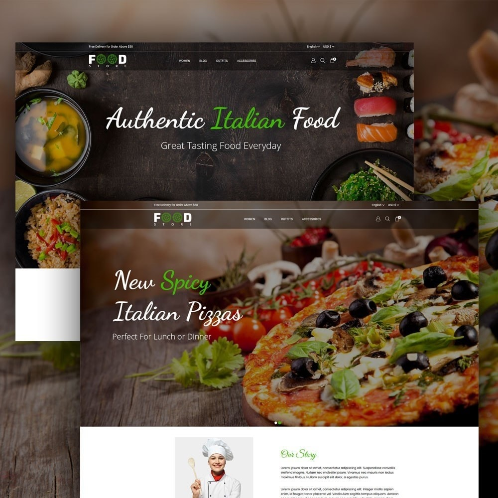 theme - Alimentation & Restauration - Food Store - 2