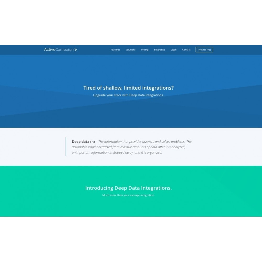 module - Boletim informativo & SMS - ActiveCampaign - 2